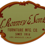 Furniture Logo L. Ronney and Sons